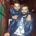 Tattoographer Karan With His Brother