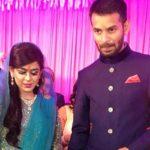 Tej Pratap Yadav with his wife Aishwarya Rai