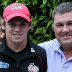 Tom Latham With His Father
