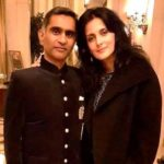 Tulip Joshi with husband