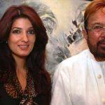 Rajesh Khanna with daughter Twinkle Khanna