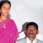 U. Sagayam With His Wife