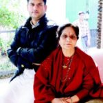 Ujjwala Sharma with her son Rohit