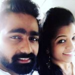Vaibhav Ghuge with his wife