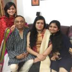 Vaishnavi Rao family