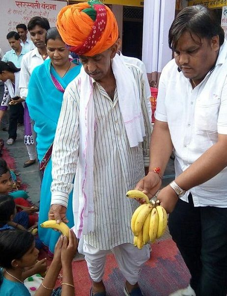 Veteran Politician Sanwar Lal Jat