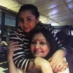 Vidya Sinha with her daughter