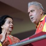 Vittal Mallya wife Ritu Mallya and son Vijay Mallya