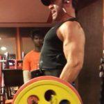 Vikas Kohli While Gymming