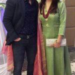Vikas Kohli with his wife Chetna