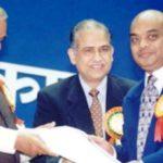 Vikram Kothari Honoured By Atal Bihari Vajpayee