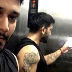 Vineet Kumar Chaudhary tattoos