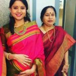 Prithi Narayanan With Her Mother