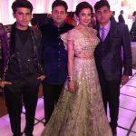 Yasmin Karachiwala with her husband and sons
