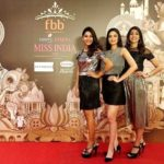 Yogita Bihani during Femina Miss India 2018 beauty contest
