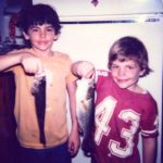 Young Matt Hardy With His Brother