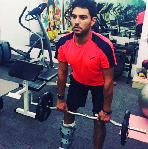 Yuvraj Singh Gym