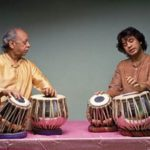 Zakir Hussain With His Father