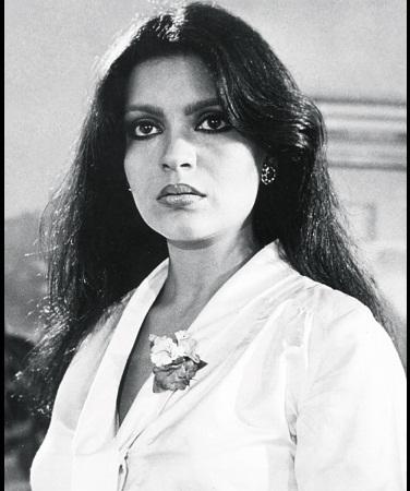 Zeenat Aman Young