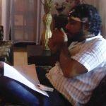Zubair Khan smoking