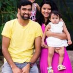 Prithi Narayanan With Her Family