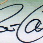 Pat Cummins' Signature