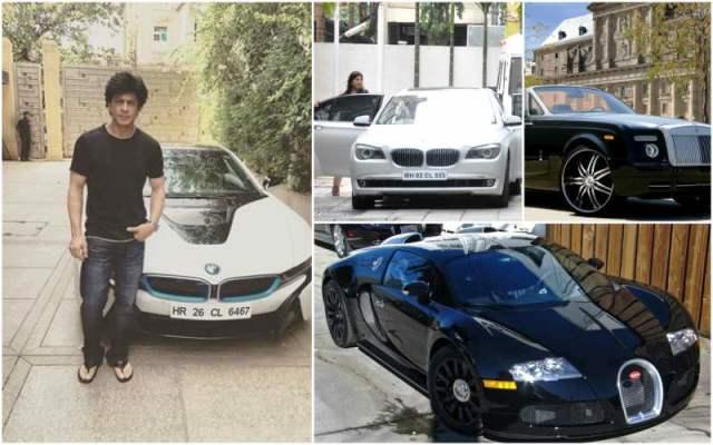 luxurious cars shah rukh khan