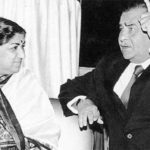 Raj Kapoor and Lata Mangeshkar