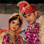 Saurabh Tiwary With His Wife Nikita Mishra