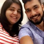 Ankit Sharma With His Sister Aditi Sharma